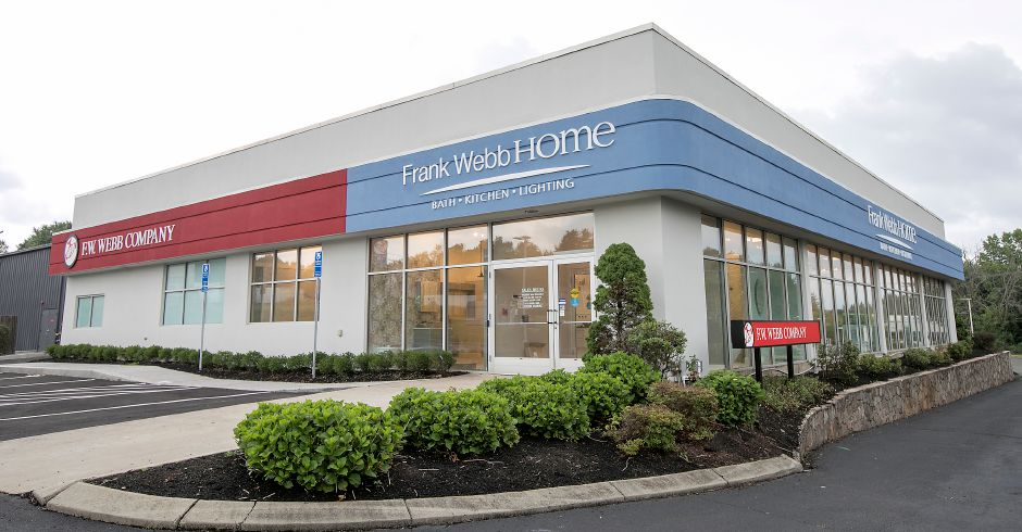 The new F.W. Webb Company at 30 Pomeroy Ave. in Meriden, Friday, June 28, 2018. The store is open weekdays 6:30 a.m. to 4:30 p.m. The showroom, right, will open in August. Dave Zajac, Record-Journal