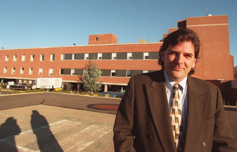 RJ file photo - James McGuire now owns the former VMMC West Campus, Dec. 1998.