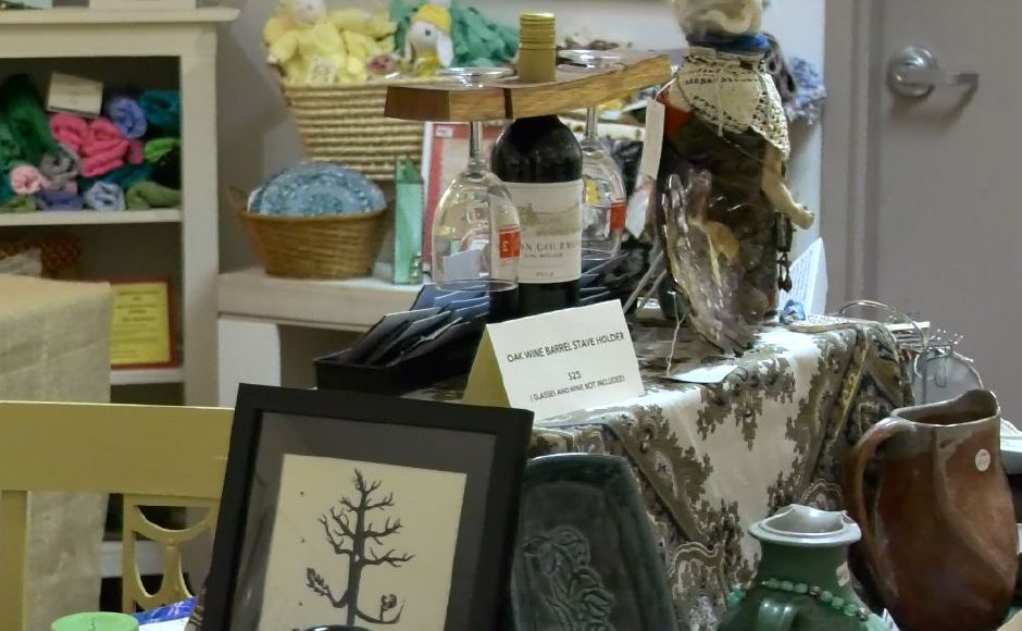 Art pieces displayed at Gallery 53 Arts and Crafts Association of Meriden Inc., 53 Colony St., Meriden. |Ashley Kus, Record-Journal