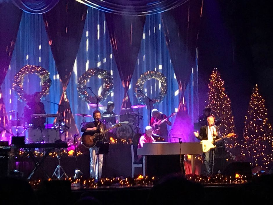 Brian Wilson of the Beach Boys brought his holiday tour to the Oakdale Theater in Wallingford Saturday night Dec. 8, 2018. | Jim Pasinski, Special to the Record-Journal
