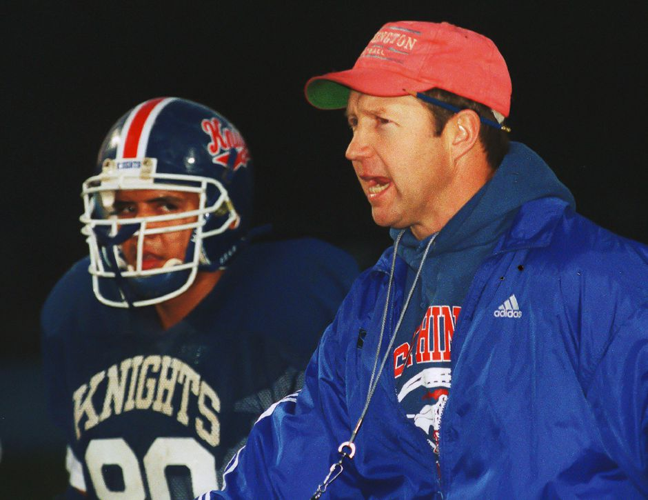 RJ file photo - Southington coach Jude Kelly, Dec. 1998.