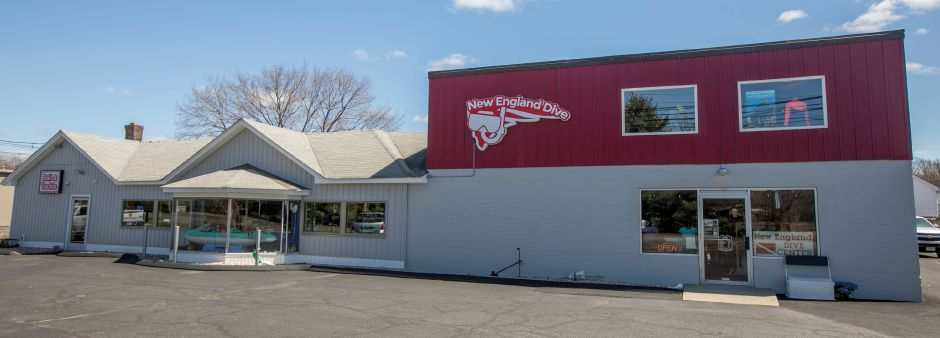 New England Dive in Wallingford, Friday, April 20, 2018. New England Dive will hold a grand opening at its new location at 1060 S. Colony Rd. next weekend. Dave Zajac, Record-Journal