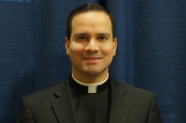 The Rev. Andres Mendoza Floyd, formerly the pastor of St. Katherine Drexel in New Britain. Floyd began as pastor of Most Holy Trinity Church in Wallingford on Tuesday, Aug. 21, 2018. | Contributed by the Archdiocese of Hartford.