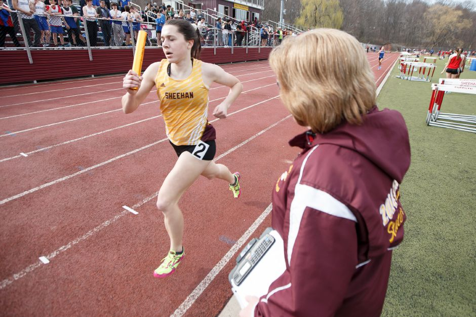 """As the meet progressed, the level of excitement was insane,"" said Sheehan senior co-captain Christine Thorp. ""We were all coming together and it was the best feeling ever."" 