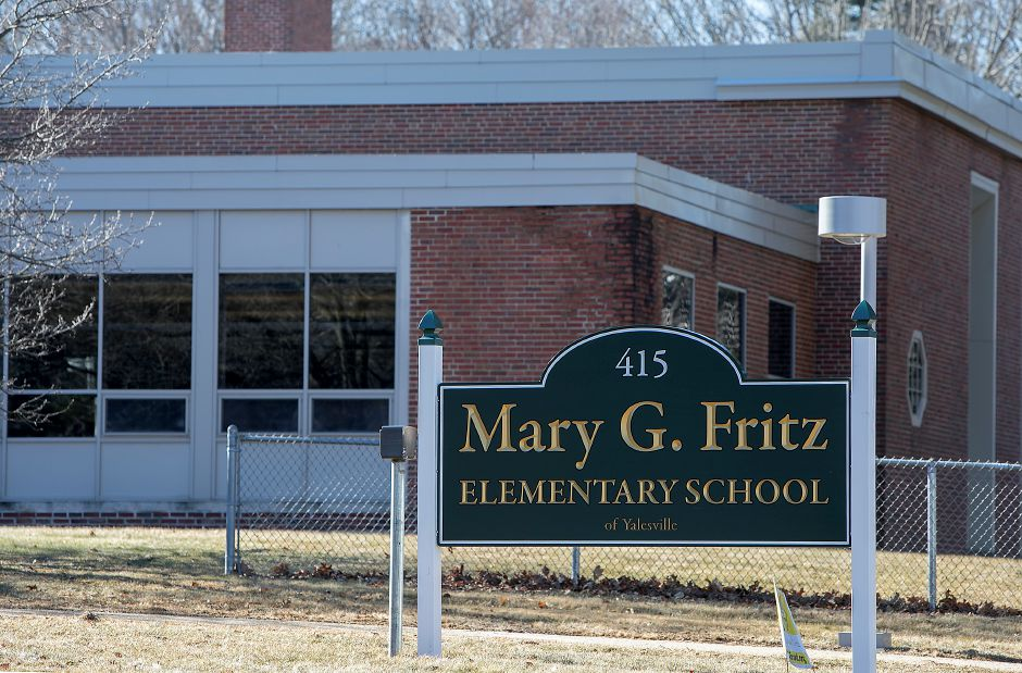 Mary G. Fritz Elementary School in Wallingford, Monday, Feb. 5, 2018. Dave Zajac, Record-Journal
