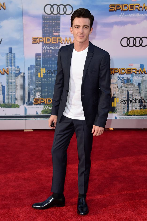 "Drake Bell arrives at the Los Angeles premiere of ""Spider-Man: Homecoming"" at the TCL Chinese Theatre on Wednesday, June 28, 2017. (Photo by Jordan Strauss/Invision/AP)"