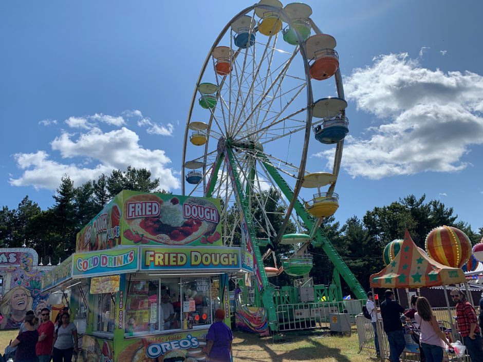 The North Haven Fair had four full days of ride specials, giving people a chance at unlimited rides for the day. Photo by Everett Bishop, North Haven Citizen.