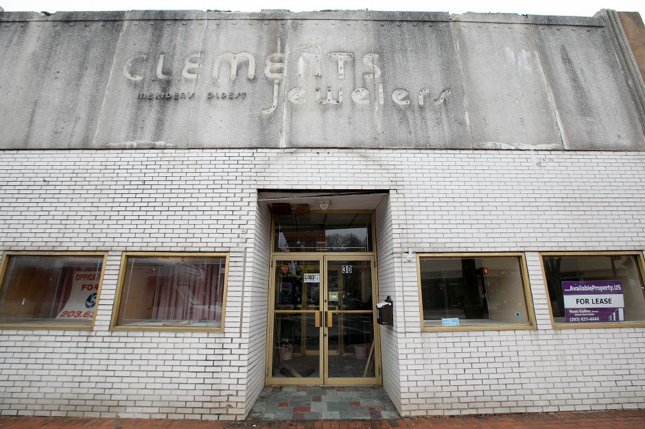 The former Clements Jewelers on West Main Street in Meriden, Monday, Jan. 22, 2018. Dave Zajac, Record-Journal