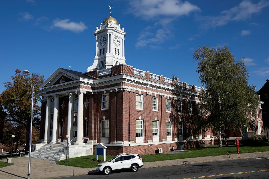 Meriden City Hall, Thursday, Nov. 9, 2017. Economic Development Director Juliet Burdelski, who has helped facilitate several major mixed-income housing projects for the city, will be leaving her post in late December. | Dave Zajac, Record-Journal