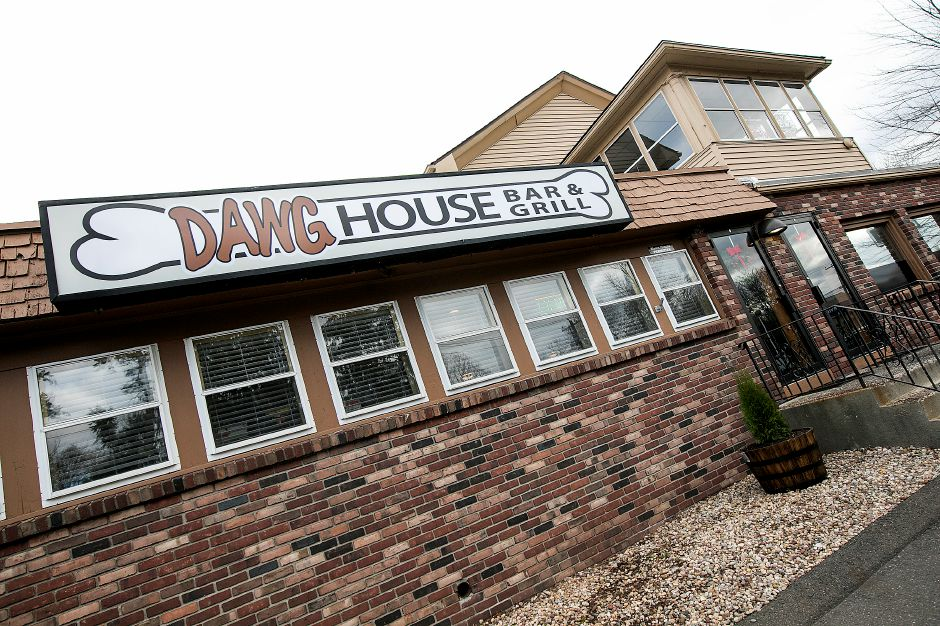 A look Friday at the new Dawg House Bar & Grill at 999 Broad St. in Meriden. The business opened in mid-November on the site of the former Quality Time Food & Spirits. Dave Zajac, Record-Journal