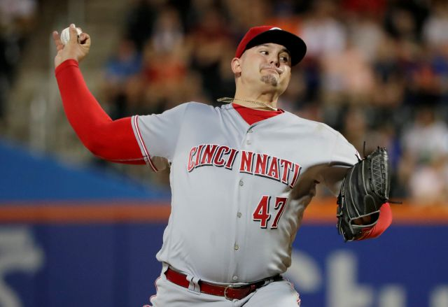 Southington native Sal Romano was recalled to Cincinnati on Monday by the Reds from Triple-A Louisville. While he's been starting recently for Louisville, Romano is expected to work out of the bullpen with the Reds. (AP Photo/Frank Franklin II)
