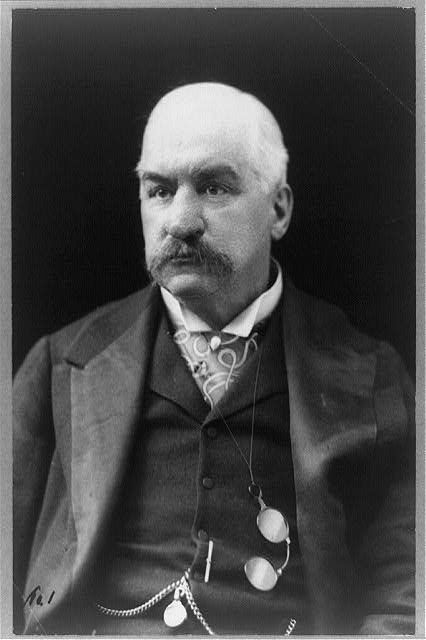 John Pierpont Morgan | Courtesy Library of Congress.