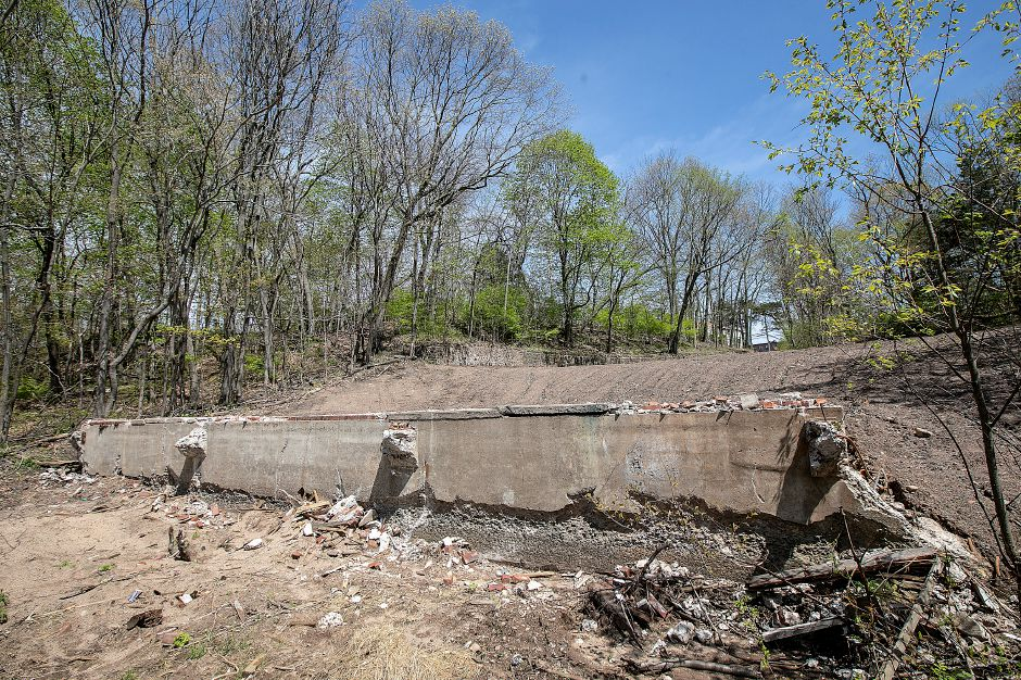 Site of the former Choate boathouse at 320 Washington St. in Wallingford, Mon., Apr. 29, 2019. Dave Zajac, Record-Journal