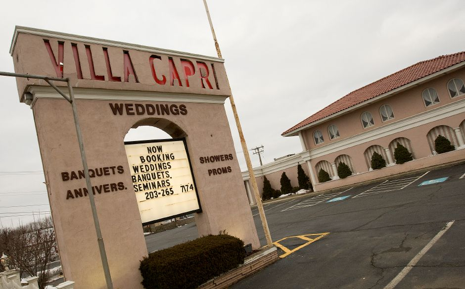 The Villa Capri on Route 5 in Wallingford, Wednesday, February 17, 2016. The Mesite family will be closing its banquet facility on July 31, 2016 after 56 years of business. | Dave Zajac / Record-Journal