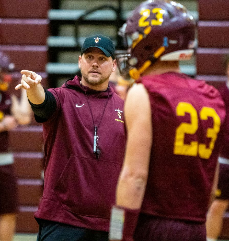 John Ferrazzi's Sheehan Titans are fully healthy and playing their best football of the season heading into tonight's Class S semifinal showdown with perennial state power Ansonia.  Aaron Flaum, Record-Journal