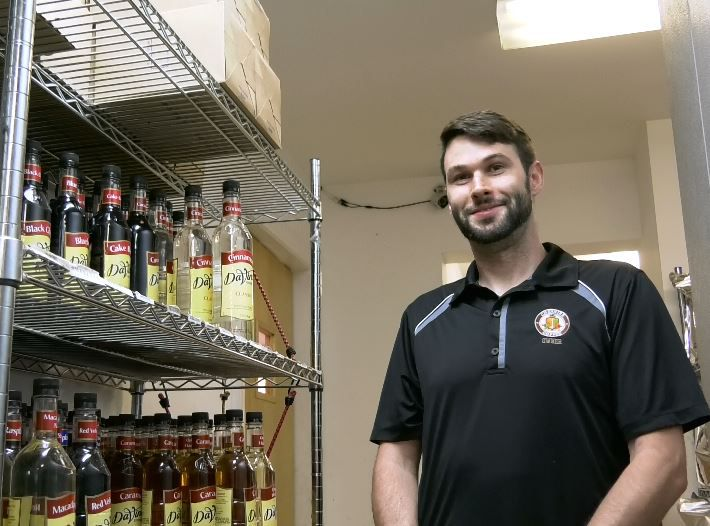 Jason Wagoner, owner Cheshire Coffee, 210 Old Towne Rd., Cheshire. |Ashley Kus, Record-Journal