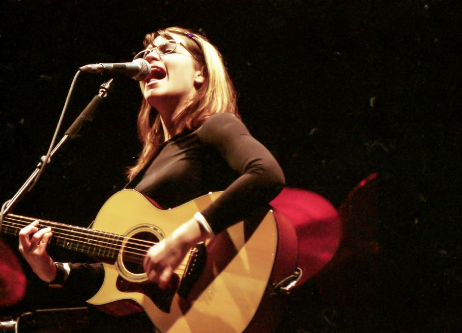 RJ file photo - Lisa Loeb opens up for Sarah McLachlin at the Oakdale Theater in Wallingford March 31, 1998.