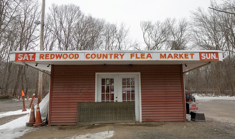 The Redwood Flea Market, 170 S. Turnpike Road in Wallingford. The property and the business is up for sale.