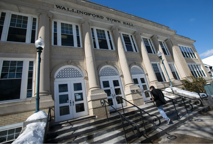 Wallingford Town Hall, Thursday, March 16, 2017. | Dave Zajac, Record-Journal
