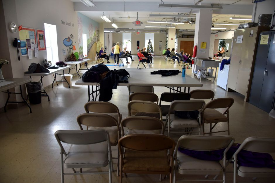 The Durham Activity Center, 350 Main St., on Wednesday, Nov. 28, 2018. Residents voted down a referendum Tuesday that would have converted the former Korn Elementary School into a new community center. | Bailey Wright, Record-Journal