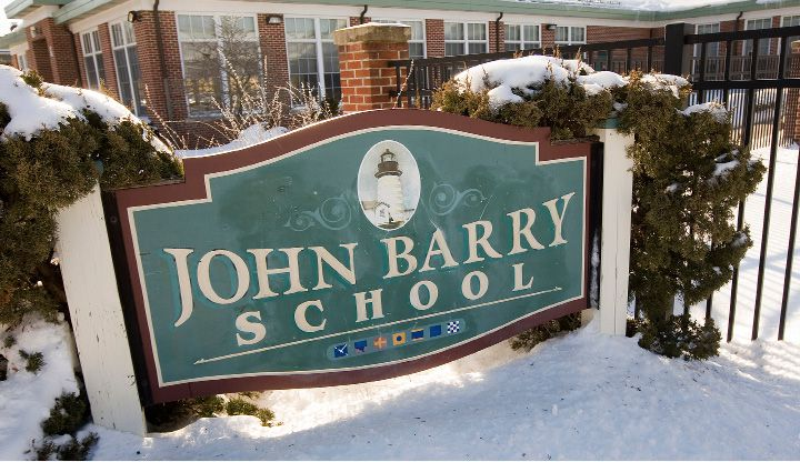 John Barry Elementary School in Meriden, Tuesday, February 14, 2017. | Dave Zajac, Record-Journal