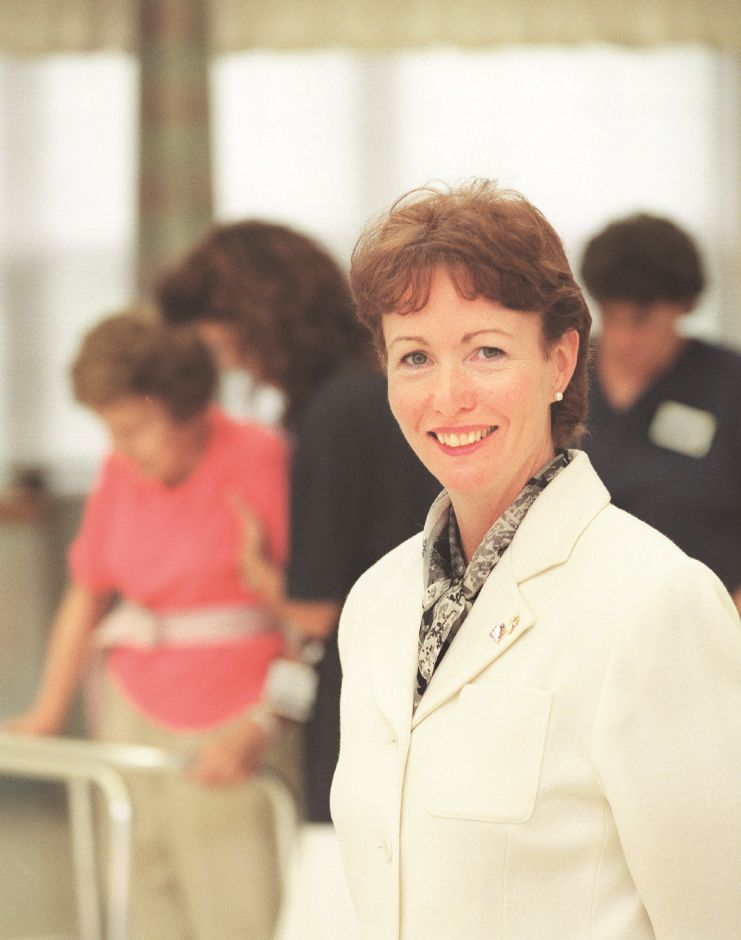 RJ file photo - Patricia Walden is the executive director of the Southington Care Center, Sept. 1998.