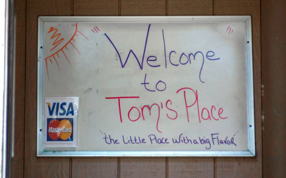 """The little place with a big flavor,"" Tom"