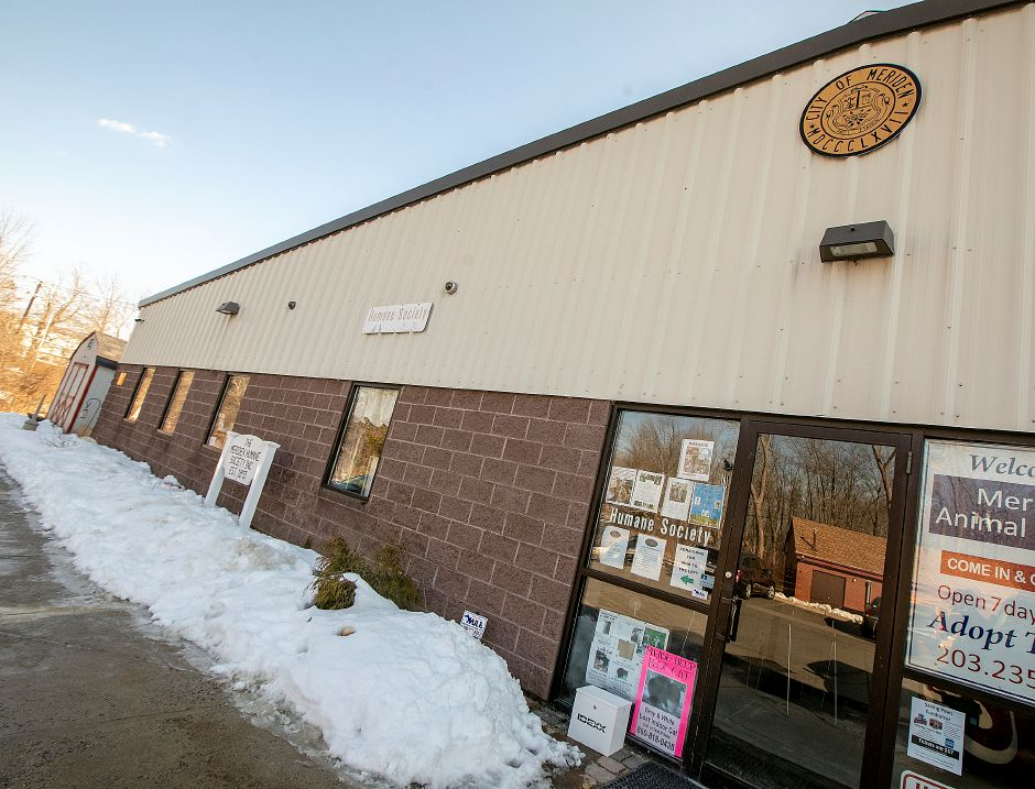 The Meriden Humane Society, Mon., Mar. 11, 2019. Eversource has donated funds to resolve the recurrent flooding issue. Dave Zajac, Record-Journal