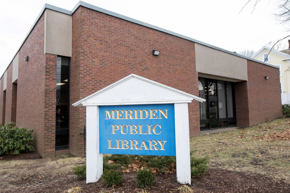 The Meriden Public Library, Monday, Jan. 29, 2018. A committee is surveying city library users on what changes they would like to see at the Meriden Public Library before coming up with final renovation plans. Dave Zajac, Record-Journal