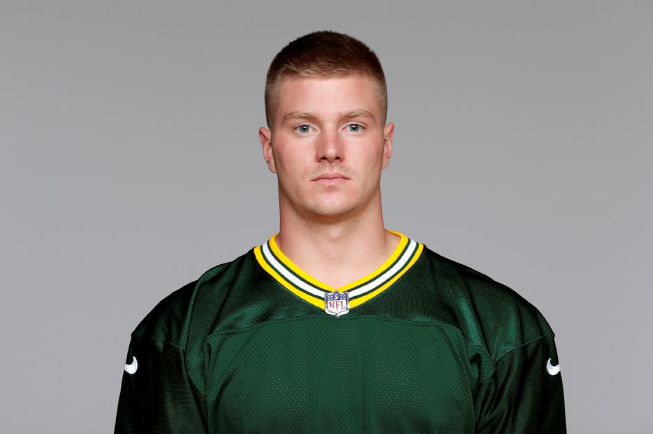 This is a 2018 photo of Tim Boyle of the Green Bay Packers NFL football team. This image reflects the Green Bay Packers active roster as of Thursday, May 3, 2018 when this image was taken. (AP Photo)