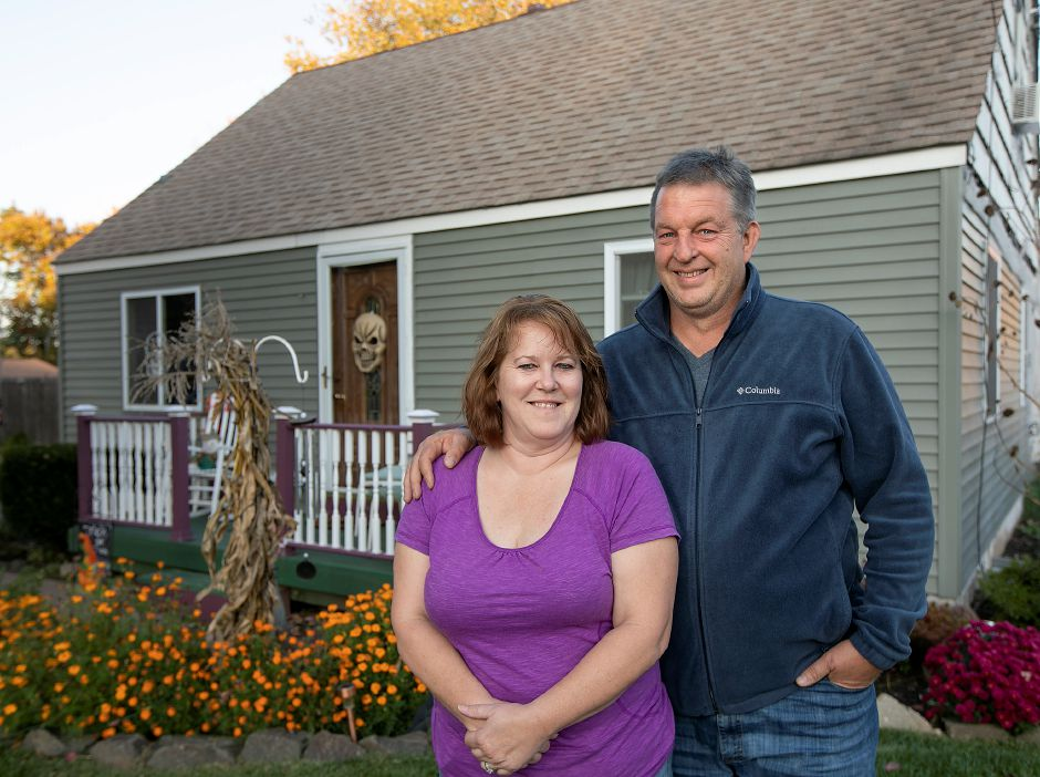 Roger and Ellen Misbach at their residence in South Meriden, Mon. Oct. 14, 2019. Dave Zajac, Recird-Journal
