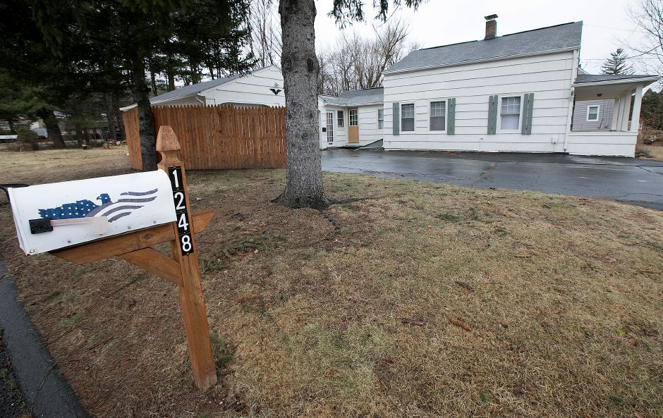 A house at 1248 Meriden Waterbury Tpke. in Southington, Wednesday, March 7, 2018. Dave Zajac, Record-Journal
