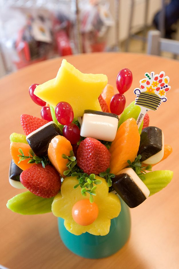 One of a variety of arrangements available at Edible Arrangements in Wallingford, Monday, February 13, 2017. | Dave Zajac, Record-Journal