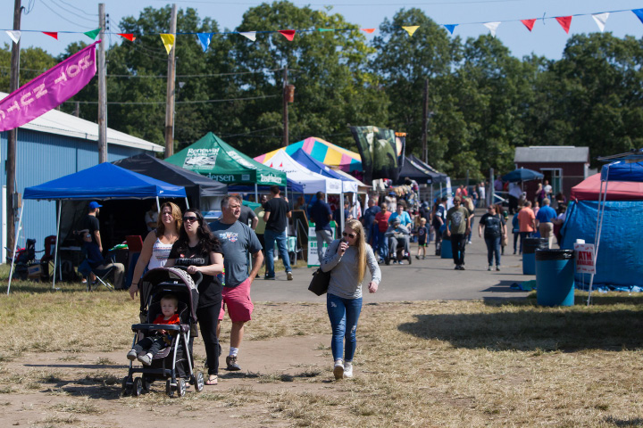 Crowds file into the final day Sunday of the 75th Annual North Haven Fair in North Haven September 10, 2017 | Justin Weekes / For the Record-Journal