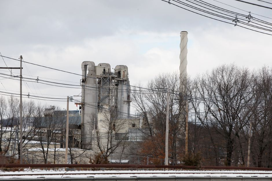 The Covanta Transfer Station on South Cherry Street in Wallingford. | Justin Weekes, Special to the Record-Journal