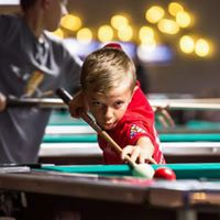 Southington's Brian Marek III, 10, competed in this summer's American Poolplayers Association's Junior Championship at the Renaissance Hotel in St. Louis, going 4-1 in his division, mostly against older players. | Photo courtesy of Sal Conti