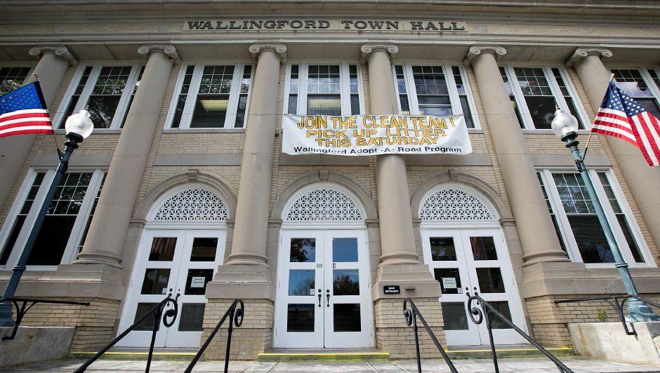 Wallingford Town Hall, Friday, October 13, 2017.    | Dave Zajac, Record-Journal