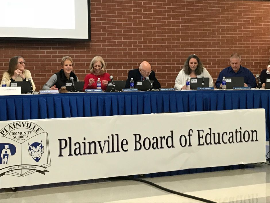 Plainville Board of Education, Monday, Nov. 13. | Ashley Kus, The Citizen