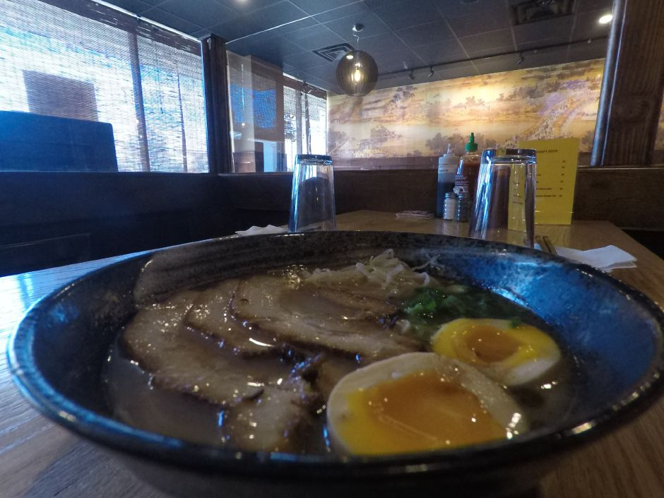 Ramen served at FunJu Noodle Bar, 20 Ives Rd., Wallingford. | Ashley Kus, Record-Journal