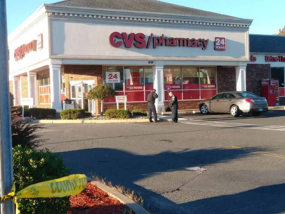 State police are investigating an officer-involved shooting at CVS on East Main Street. | Jeniece Roman, Record-Journal