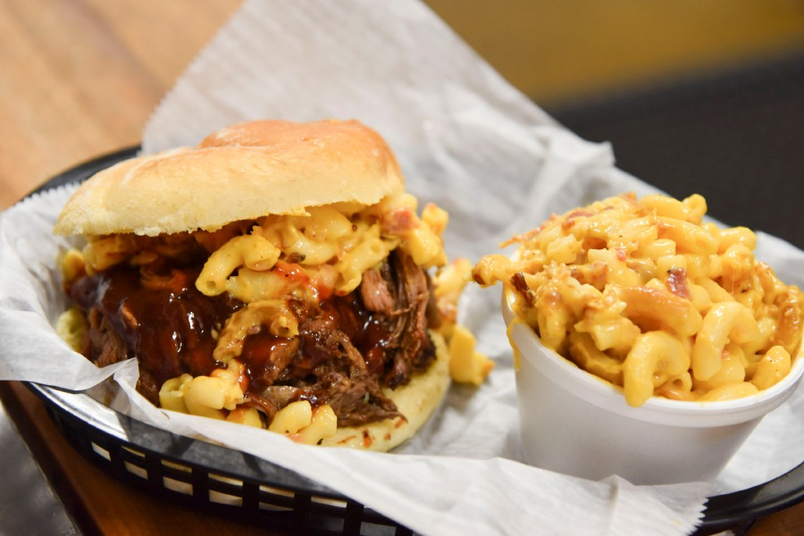 The pigmac sandwich at Pig Rig in Wallingford. Bailey Wright, Record-Journal