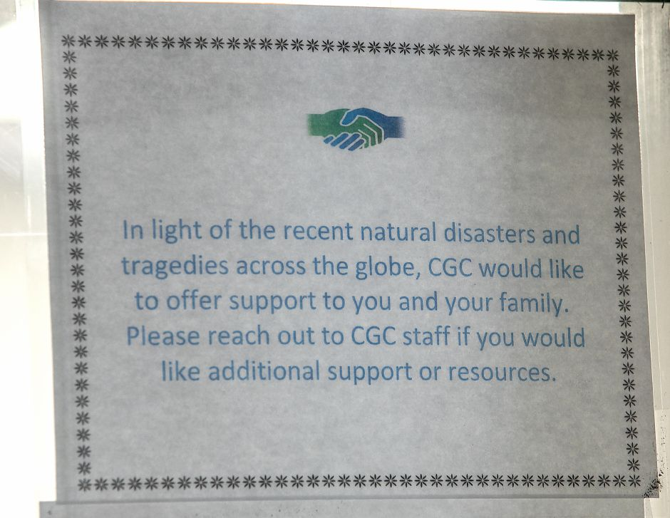 Support offered for victims of natural disasters and tragedies at Child Guidance Clinic for Central Connecticut at 284 Pratt St. in Meriden, Thursday, July 26, 2018. Founded in 1957, the nonprofit Child Guidance Clinic of Central Connecticut provides comprehensive evidenced based mental health evaluation and treatment, crisis intervention and outreach services to children, adolescents and their families in the greater Meriden area. Dave Zajac, Record-Journal
