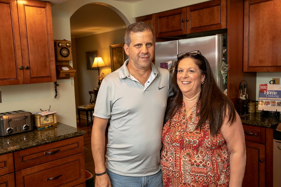 Keith and Angela Massimino, of Cheshire, creators of Angela