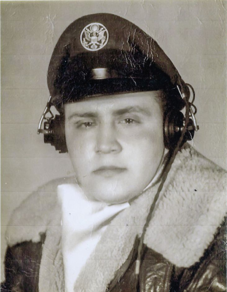 Alfred Adinolfi in uniform during the Korean War