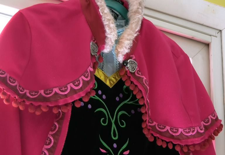 A princess costume used for character parties and events hosted by Jenna Morin, owner of Face Candy Art and Entertainment, Meriden. |Ashley Kus, Record-Journal
