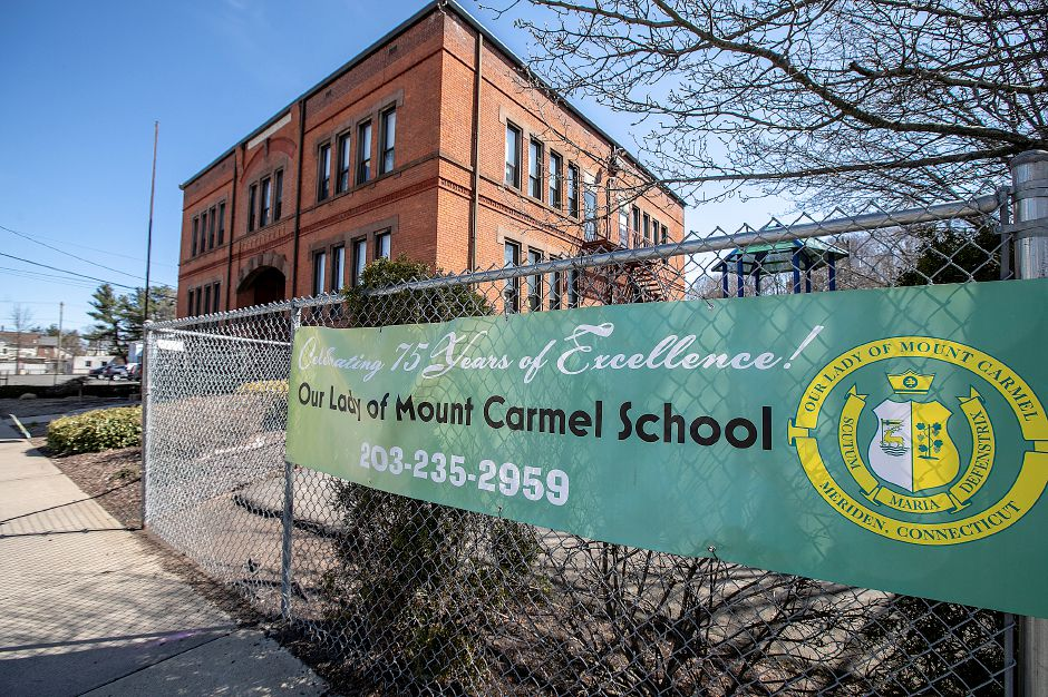 Our Lady of Mount Carmel School in Meriden, Thurs., Apr. 4, 2019. The school is celebrating 75 years. Dave Zajac, Record-Journal