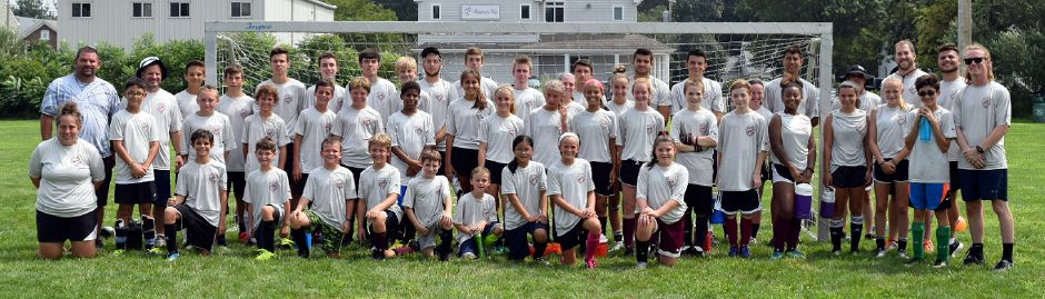 North Haven Soccer Camp, grades 4 to 8.