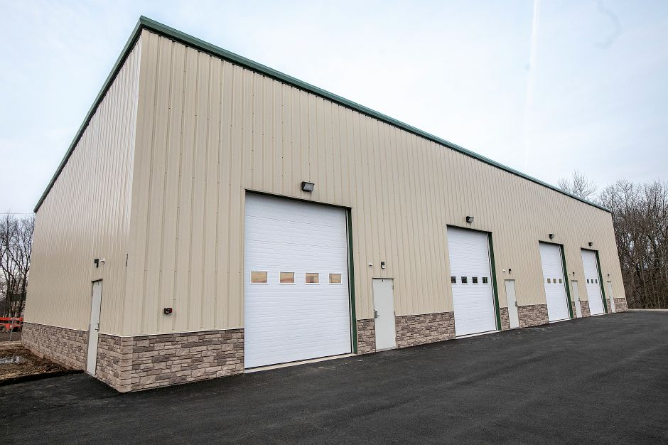 A new 6,000 square-foot building at 36 Triano Drive in Southington, Thurs. Dec. 6, 2018. The industrial space is home to Skygazer Brewing Company, John Meade's landscaping business and Packt House, a clothing design, video and music production company. Dave Zajac, Record-Journal