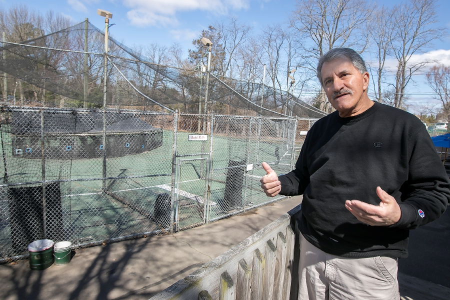 Paul Rossi, owner of Hidden Valley Miniature Golf in Southington, talks Friday about construction of a go-kart track slated to begin this summer, part of a $1 million upgrade to the West Street facility that includes the removal of batting cages, building improvements and redesign of the golf course. Dave Zajac, Record-Journal