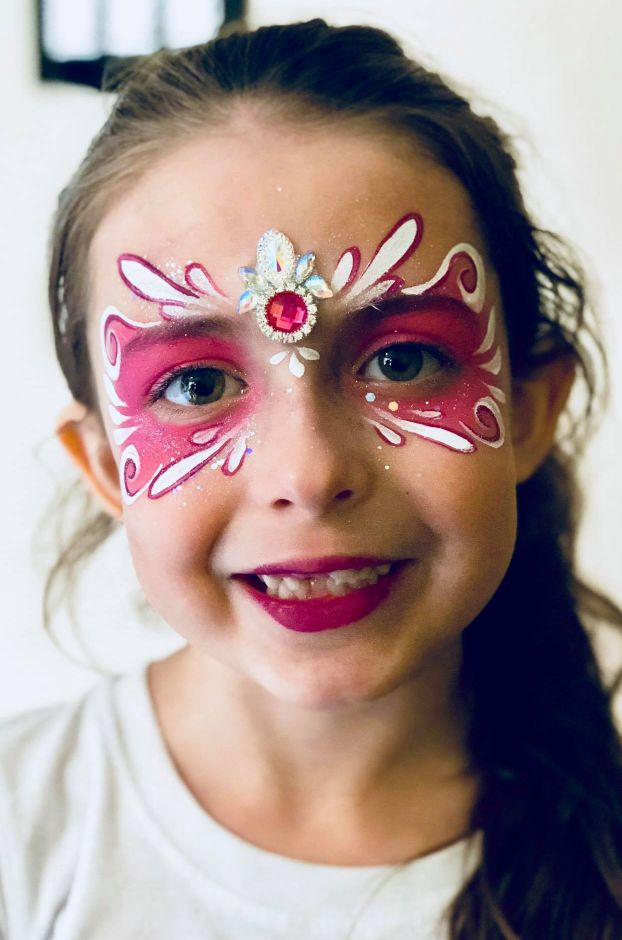 Face painting by Face Candy Art and Entertainment. |Courtesy of Jenna Morin